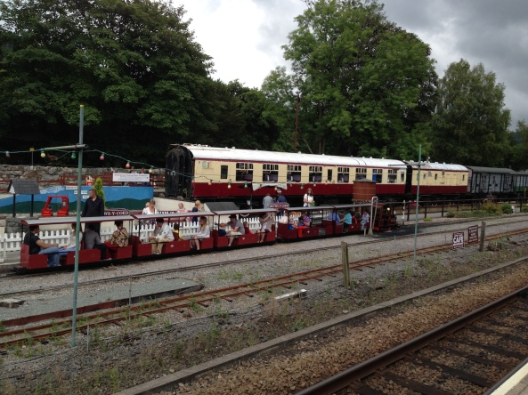 The Station Platform.